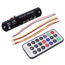 12V Auto Bluetooth USB MP3 WMA FM AUX Decoder Module Audio TF SD Card Radio