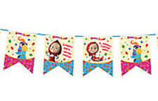 3.2 m Garland party for Masha and the Bear, flags, decorations birthday  favors