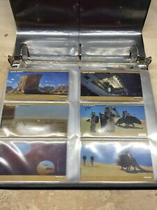 STAR WARS TRILOGY S.E. 1997 TRADING CARD SET TOPPS WIDEVISION & Special Binder