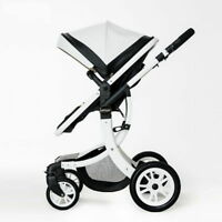 Baby Stroller 2 In 1 Folding Carriage Comfortable Kid Infant Car Trolley Seat