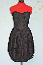 80s vintage   puff ball prom dress
