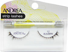 Andrea Strip Lashes Black/Brown # 12 - 61922