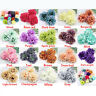 15P/Lot Big Peony Flower Head Large Artificial Silk  Flowers Wedding Party Decor