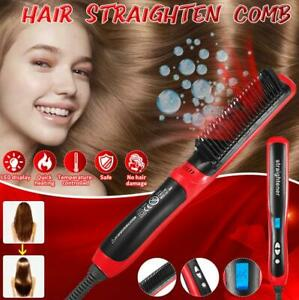 2 In1 Quick Curling Iron Hair Straightener Curling Hair Style Curler Show Cap T