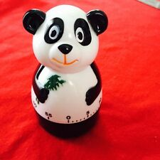 Mechanical 60 minute Panda Timer no batteries required Kitchen Tool