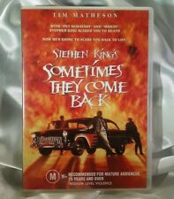 Sometimes They Come Back DVD STEPHEN KING - CULT CLASSIC