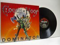 CLOVEN HOOF dominator LP EX+/VG+, HMRLP 113, vinyl, album, heavy metal, uk, 1988