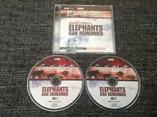 Agatha Christie Elephants Can Remember - Poirot 2 Disc CD Radio 4 Dramatization