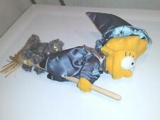 LISA SIMPSON Halloween Stuffed Doll OOAK Applause Prototype Witch SAMPLE cat