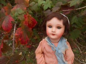 Ancienne poupée incassable époque 1900 sortie grenier !