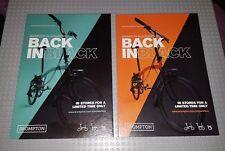 Brompton BLACK EDITION cardbard Pubblicità Frame è sinonimo-x2 nuovo/inutilizzato