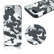 ^ Moro Kartenfach Schutz Hülle Case Cover Camouflage Armee Für Huawei P20 Weiß