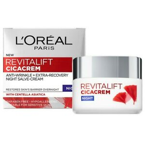 L'Oreal Skincare Revitalift Cica Cream Night Cream 50 ml
