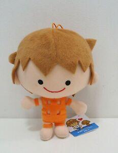 TM Revolution Furyu Orange Plush Thabo Tabo Kun Doll Japan Takanori Nishikawa