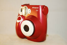 Polaroid 300, lomography,uses fuji instax mini, fantastic plastic (b32) red