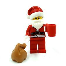 Lego Santa Claus Minifigure, Authentic Christmas Minifig