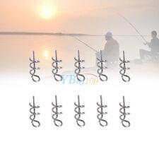 Bait Pin Stainless Steel Lure Spring Fishing Mixed Lock Screw Hook