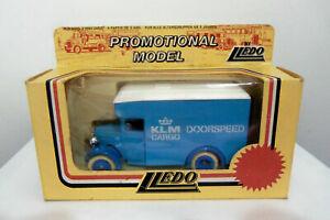 LLEDO PROMOTIONAL MODEL 1934 Dennis Parcels Van LP16 046A - KLM (Holland)
