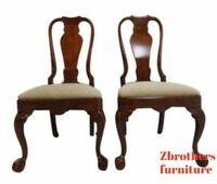 Henredon Ball and Claw Chippendale Dining Room Side Chairs A