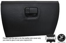 BLACK STITCHING GLOVE BOX LEATHER COVER FITS MAZDA MX5 MK2 / 2.5 MIATA 98-05