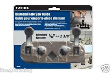 "Diamond Hole Saw Blade Guide Adjustable Jig for Tile & Glass 5/32"" up to 1 3/8"""