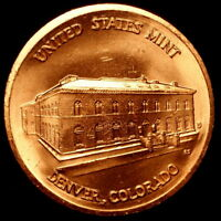 1982 1983 D Souvenir Denver Mint Set Bronze Coin  2017 310