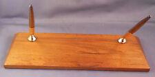 Sheaffer Wooden double ball  pen desk set