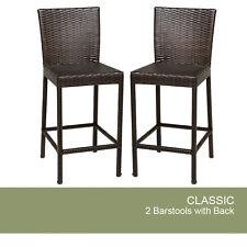 2 Classic Barstools w/ Back