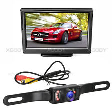 Car Backup Camera Rear View HD Reversing System 170° + 5