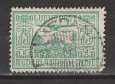 Nederlands Indie 9 TOP CANCEL MEDAN Netherlands Indies luchtpost airmail 1928