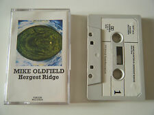MIKE OLDFIELD HERGEST RIDGE CASSETTE TAPE ORIGINAL 1974 PAPER LABEL VIRGIN UK