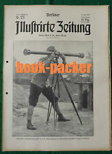 BERLINER ILLUSTRIRTE ZEITUNG 1915 Nr. 23: Durchbruchsschlacht von Tarnow-Gorlice