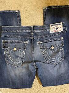True religion Brand Jeans Straight Denim Men's Size 40 x 34