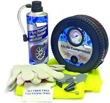 (SW) Wheel Tyre Inflator Pump Puncture Spare Kit MC17/10