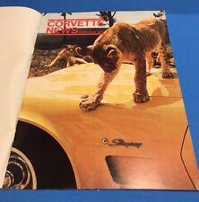 February March 1976 Corvette News 1954 Corvette Lincoln Auto Salvage Fred Neff