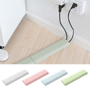 Safe Hide TV Cable Wire Cord Tidy Covers Wall Kit Computer Audio Wall Organizers