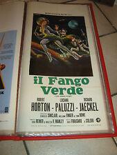 LOCANDINA,Il fango verde The Green Slime 1968,Fukasaku,Horton,Paluzzi,Jaeckel