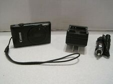 Canon PowerShot ELPH 300 HS / IXUS 220 HS 12.1MP Digital Camera - Black +4G READ
