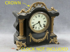 Ansonia Clock Parts REPLACEMENT  Crown Toulon Mantle Clock  NEW MOLD Parts FIT!