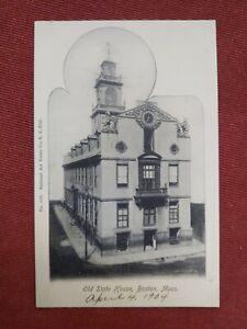 Postcard, Old State House, Boston, MA, 1904