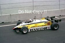 Alain Prost Renault RE30B Detroit Grand Prix 1982 Photograph