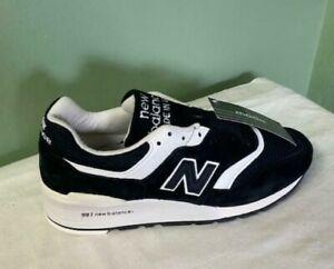 Men's New Balance 997 Heritage Running Shoes Black Comfort M997BBK Size 7