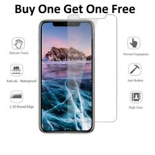 Screen Protector For Apple iPhone X - 100% Genuine Tempered Glass