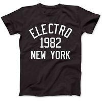 Electro Music 1982 T-Shirt 100% Premium Cotton TR-808 Planet Rock Drexciya
