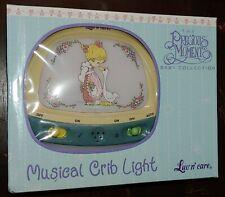 Precious Moments Musical Crib Light New In Box Girl Goose