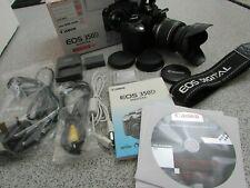 In scatola Canon EOS 350D 8.0MP fotocamera digitale con Canon-S 18-55mm EF Lente (PP10)