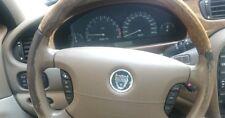 Set regeneriert Farbe Lederlenkrad Jaguar x s type erneuert Hellbraun AEK