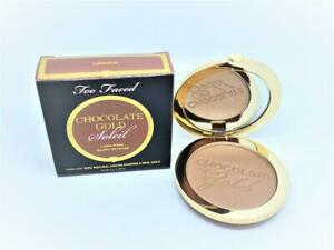too faced chocolate gold soleil long-wear gilded bronzer luminous full size