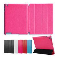 Deluxe Hülle iPad 2 3 4 Cover Case Schutz Tasche Etui Aufstellbar Ständer Pink