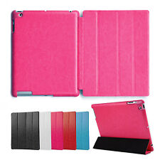 Deluxe Cover IPAD 2 3 4 Cover Case Case Pouch Stand Up Stand Pink